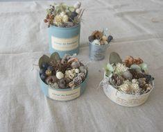 紫陽花リースと実の詰め合わせのワークショップ   FLEURI blog**ナチュラルアンティークなアクセサリー**