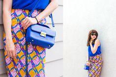Summer colour look #OOTD #Style #Midi #Dolce&Gabbana #Summer #Intimissimi #Crossbody  #katharinefashionisbeautiful Hari Nef, Ootd, Summer Colors, Dolce, Keds, Shoulder Bag, My Style, Beautiful, Women