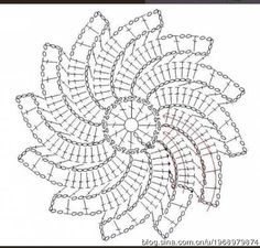 Not Your Grandma's Doily – Spectacular Suede Crochet Doily – Free Pattern Crochet Diagram, Freeform Crochet, Crochet Chart, Thread Crochet, Crochet Motif, Irish Crochet, Crochet Lace, Crochet Stitches, Crochet Circles