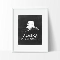 Alaska Printable by SamanthaLeigh on Etsy