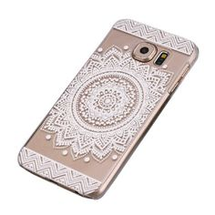 Malloom® Samsung Galaxy S6,Campanula Mandala Floral Dream Catcher Case Cover