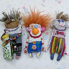 Puppen Foto Know All About Central Air Conditioning There are a number of reasons why you should go Fabric Toys, Fabric Art, Fabric Scraps, Sewing Toys, Sewing Crafts, Sewing Projects, Zombie Dolls, Voodoo Dolls, Ugly Dolls