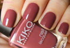 Kiko 365 tattoo rose Source by [pin_pinner_useKiko 365 tattoo rose Kiko 365 tattoo rose rname] Gorgeous Nails, Love Nails, How To Do Nails, Pretty Nails, Fun Nails, Autumn Nails, Nail Polish Colors, Manicure And Pedicure, Nails Inspiration