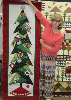 Sandy made this Tall Trim the Tree. We have patterns in stock!