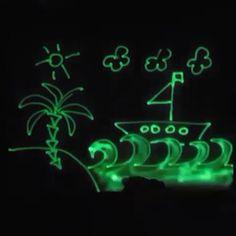 Рисуй светом Набор для семейного творчества рисуй-светом.рф
