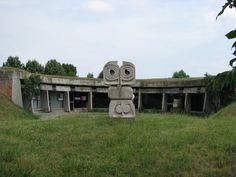 Incredible Abandoned Yugoslavian Soviet Monuments 3  Lazer Horse