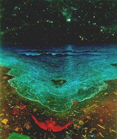 Piccsy :: Amazing Artwork by Zdzislaw Beksinski Creepy Paintings, Amazing Paintings, Surrealism Painting, Artist Painting, Cool Artwork, Amazing Artwork, Pretty Art, Surreal Art, Art And Architecture