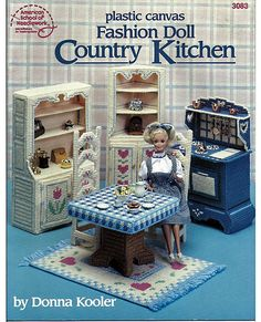 Barbie Fashion Doll Country Kitchen