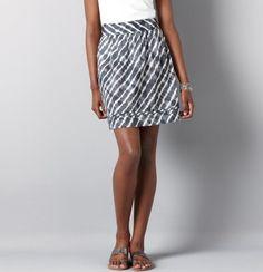 Tie Dye Printed Skirt