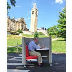 Cornell University Clock Tower, meet The POD http://www.agati.com/pod-workstation/