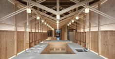 The Inverted Truss / B+P Architects | ArchDaily
