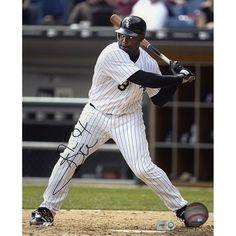 "Carl Everett Chicago White Sox Fanatics Authentic Autographed 8"" x 10"" 2005 World Series Hitting Photograph - $9.99"