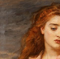 """suonko: """" The Martyr of Solway [detail] by John Everett Millais """""""