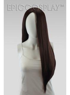 Eros Multipart Dark Brown Long Wig
