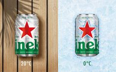 Heineken Cool Can Edition on Packaging of the World - Creative Package Design Gallery