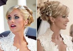 Celebrity Bridal Hairstyles Ideas In 2020 Celebrity Wedding Hairstyles Gallery Celebrity Bride Of 93 Amazing Celebrity Bridal Hairstyles Ideas In 2020 Celebrity Wedding Hair, Wedding Hair And Makeup, Hair Makeup, Wedding Hairstyles With Veil, Wedding Updo, Celebrity Hairstyles, Up Hairstyles, Bridal Hairstyles, Stylish Hairstyles