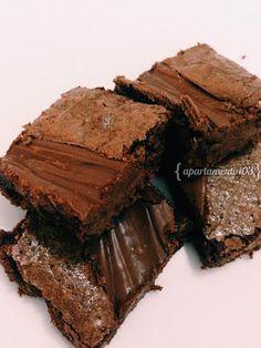 Receita de #brownie de chocolate com nutella