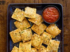Toasted Ravioli : Crispy fried ravioli is a sure crowd-pleaser for any get-together.