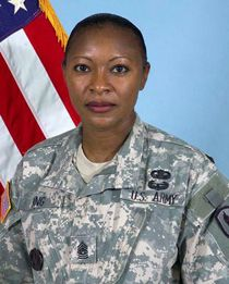 Command Sgt. Maj. Teresa KingOn Sept. 22, 2009, Command Sgt. Maj. Teresa King became the first female commandant of the Drill Sergeant School at Fort Jackson, S.C. King said it is important to note that a hard worker will shine, regardless of gender.