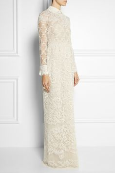 Valentino|Beaded tulle gown