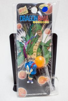 Dragon Ball Z Bulma with Ball Mascot Figure Mobile Strap Unifive JAPAN ANIME