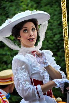 Mary Poppins. If I ever worked at Disney, I would love to be her!