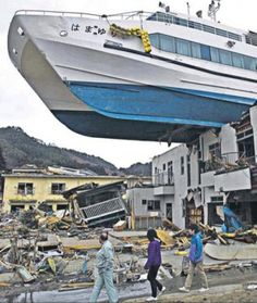 Tsunami in Japan. Still recovering. Nuclear reactor *still* in crisis.