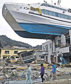 Tsunami in Japan. Nature.