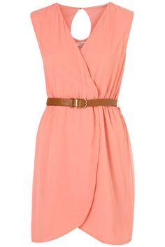 Asymmetric dress by Topshop.
