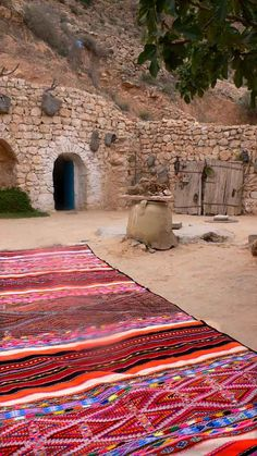 Honeymoon Kilim is a stunning piece found with the Ahmed family in a small mountain village