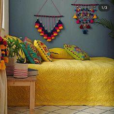 Home decor Bohemian Bathroom - - - - Indian Home decor Tips - Indian Room Decor, Indian Bedroom, Ethnic Home Decor, Mexican Bedroom Decor, Mexican Living Rooms, Indian Living Rooms, Home Decor Furniture, Diy Home Decor, Indian Interior Design