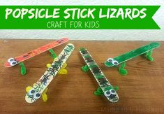 popsicle stick lizards main