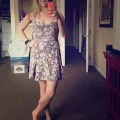 Free people dress Great summer dress. No stains or defects. Size says 10 but it runs a bit small- I would say it's more like an 8 Free People Dresses Mini