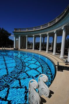 Hearst Castle..look at that pool...be in it everyday