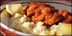 African Chicken in Berbere Sauce