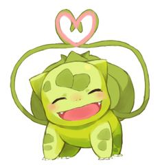 Pokemon Bulbasaur ♥ So cute! :)