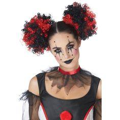 Clown Costume Women, Scary Clown Costume, Creepy Clown Makeup, Scary Clowns, Girl Clown Makeup, Halloween Clown, Pretty Halloween, Halloween Makeup Looks, Halloween Costume Makeup