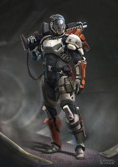 ArtStation - Sci-fi Character Design, Conor Burke