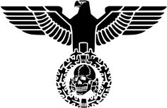Totenkopf Deaths Head Iron Eagle T Shirt German Deutschland Tee WW2 Shirt | eBay