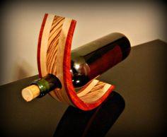 Beautiful Gravity Wine Bottle Holder
