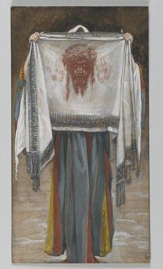 "douayrheims:  ""(via Devotion to the Holy Face of Jesus: The Holy Face (La sainte face) by James Tissot)  """
