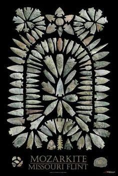 Missouri arrowheads