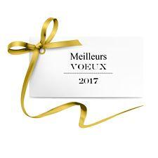 Voeux entreprises à envoyer comme un petit cadeau de nouvelle année avec son joli ruban doré. L'occasion d'envoyer vos meilleurs voeux en toute simplicité grâce à Popcarte.