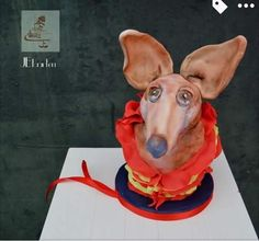 Animal rights collaboration; Podenco dog - Cake by Judith-JEtaarten Edible Art, Animal Rights, Daily Inspiration, Scooby Doo, Collaboration, Cake Decorating, Carving, Cakes, Dogs