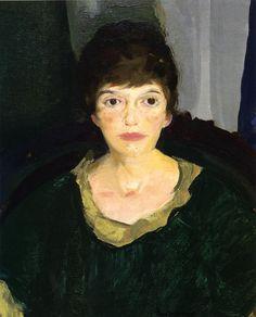 George Bellows - Emma in Night Light