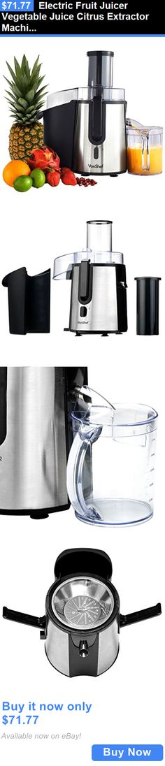 Small Kitchen Appliances: Electric Fruit Juicer Vegetable Juice Citrus Extractor Machine Maker Blender New BUY IT NOW ONLY: $71.77 Coffee And Tea Makers, Coffee Maker, Small Juicer, Dessert Makers, Fruit Juicer, Best Juicer, Chafing Dishes, Small Kitchen Appliances, Espresso Machine