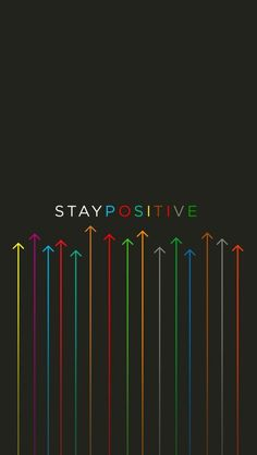 Stay Positive . Stay Up - mobile9 #Motivation #Quote for iPhone 5 wallpapers. Download here >> http://m9.my/go/p17
