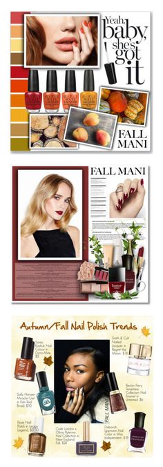 """Winners for Pretty Fall Mani"" by polyvore ❤ liked on Polyvore featuring beauty, OPI, Beauty Secrets, Bobbi Brown Cosmetics, Senna Cosmetics, MAC Cosmetics, Christian Dior, Clinique, Tweezerman and Chanel"