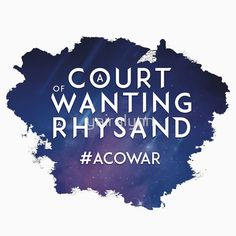ACOWAR - A Court of Wanting a Rhysand... I feel this on a molecular level... sigh