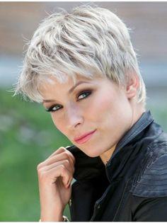 """6"""" Grey Fashion Grey Wigs"""